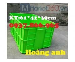 Phân phối các loại nhựa đặc, sóng nhựa, thùng nhựa cơ khí, thùng nhựa kèm nắp, thùng nhựa b8