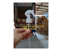 Giá sỉ van xịt con chuột trắng sữa phi HDPE