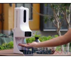SANI máy đo thân nhiệt từ xa & xịt khuẩn tự động