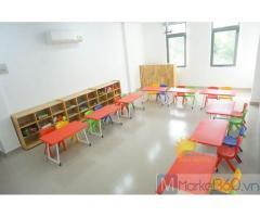 Bàn ghế nhựa trẻ em cho trường mầm non , gia đình