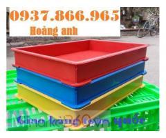 Khay nhựa đựng thành phẩm trong nhà máy sản xuất, khay nhựa BL 006, khay nhựa giá rẻ tại hà nội