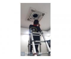 Lắp đặt máy lạnh tại nhà Tân Phú - Cao Vĩ
