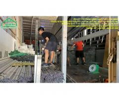 Vật tư nhà kính trồng rau sạch, hoa màu, thanh nẹp c và zic zăc nha kinh nông nghiệp
