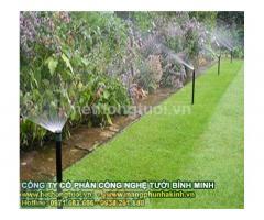 Thiết kế hệ thống tưới cảnh quan, béc phun nước tưới cỏ, béc phun nước tưới cây,béc tưới sân gold, tưới sân vận động