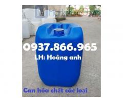 Can nhựa 5 lít,can nhựa hóa chất, can nhựa HDPE 25l đựng hóa chất, can nhựa đựng dung dịch lỏng