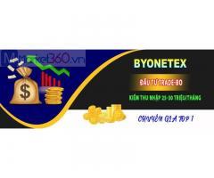Hướng dẫn đăng ký và kích hoạt tài khoản byonetex