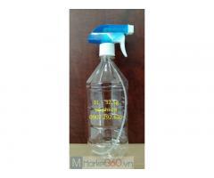 HDPE chai nhựa trong suốt vòi bơm màu xanh phi 28 sỉ