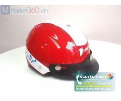 Xưởng mũ bảo hiểm quà tặng doanh nghiệp, xưởng in logo mũ bảo hiểm giá rẻ theo yêu cầu