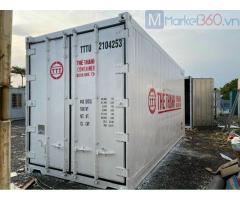 Container 20 sơn mới lạnh có sẳn tại bãi