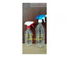 Cung cấp 2 chai nhựa 500ml và 1l