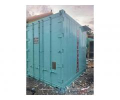 Container lạnh 10 feet sơn mới máy THERMOKING