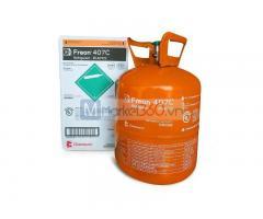 Gas R407C Chemours Freon Mỹ 11,35 kg