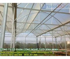 Lưới chống côn trùng nông nghiệp, lưới chắn côn trùng thái lan, vật tư nhà lưới politiv israel