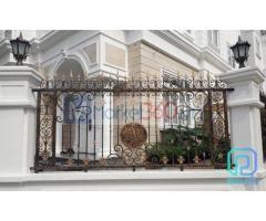 Làm sao để thiết kế thi công hàng rào biệt thự cổ điển sang trọng ấn tượng
