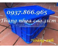 Cung cấp thùng nhựa có nắp, thùng nhựa đặc tại hà nội, giá thùng nhựa đặc