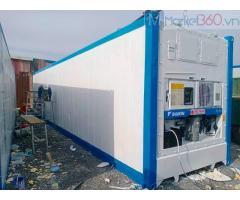 Container lạnh 40 feet lạnh có sẳn