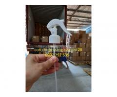 Con chuột trắng sữa phi 28 chất liệu pp, pet , hdpe
