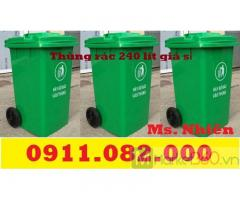 Sỉ lẻ thùng rác tại đồng tháp - thùng rác 120L 240L giá rẻ-