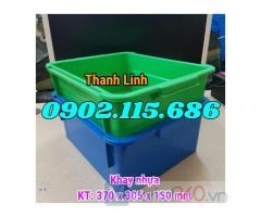 Thùng nhựa đăc, khay nhựa A3, khay nhựa đựng link kiện, thùng nhựa A3