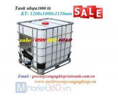 Tank nhựa 1000 lít - Cty Việt Xanh