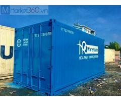 Container lạnh 20 feet lạnh sơn mới luôn có sẳn