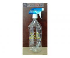 Gia công chai nhựa 1L vòi phi 28 ngành hóa mỹ phẩm chuyên dùng