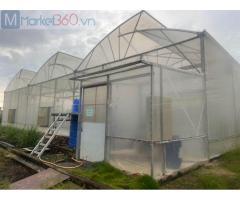 Mô hình nhà lưới trồng rau, mô hình nhà lưới giá rẻ,lưới chắn côn trùng israel politiv