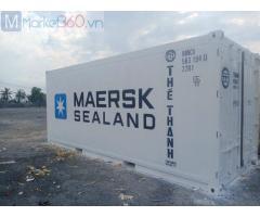 Container lạnh 20 feet lạnh sơn màu trắng