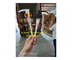 Gia công si vàng-dẹp đen phi 33 ngành hóa mỹ phẩm pp,pet,hdpe