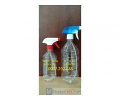 Sản xuất chai lọ 500ml-1L gia công ngành dược phẩm pp,pet,sẵn kho