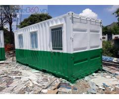 Container lạnh vf 20 feet sơn trắng xanh