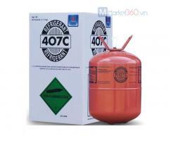 Bán gas lạnh R407 loại 11.3 kg / bình giá tốt