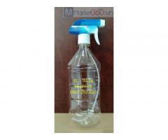 Gia công sản xuất chai nhựa 1L vòi xanh phi 28 dược phẩm sẵn