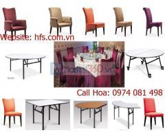 Bàn ghế banquet, bàn ghế nhà hàng khách sạn cao cấp