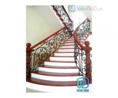 Top cầu thang sắt uốn cổ điển chất lượng cao được bán chạy nhất