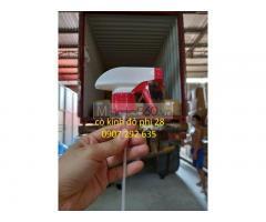 Nhập khẩu cò kính đỏ phi 28 dược phẩm HDPE,PET,PP sẵn