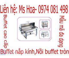 Dụng cụ buffet, nồi chafing dish, bình giữ lạnh nước trái cây