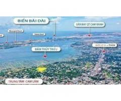 Chính chủ cần bán gấp lô đất Cam Lâm đổi diện công viên hướng nhìn ra đầm thủy triều