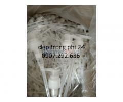 Dẹp trong phi 24 nhập khẩu ngành dược phẩm HDPE,PET,PP