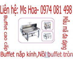 Dụng cụ buffet, nồi hâm nồi súp buffet đun điện cao cấp