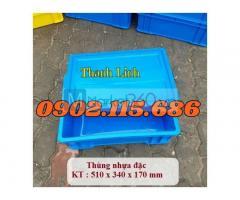 Thùng nhựa B4, thùng nhưa cơ khí, thùng nhựa công nghiệp, sóng nhựa bít, sóng nhựa B4, thùng nhựa có nắp, thùng nhựa đặc.