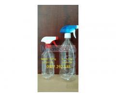 Sản xuất chai nhựa đủ size gia công PP sẵn kho