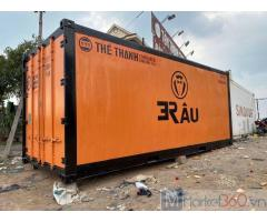 Container lạnh 20 feet sơn mới đặt theo yêu cầu Sơn mới bảo hành 2 năm : MS TRÂM DEPOT: 5/4 NGUYỄN THỊ TƯ PHƯỜNG PHÚ HỮU QUẬN 9