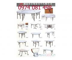 Bàn ghế nhà hàng, bàn hội nghị, bàn Oblong ibm