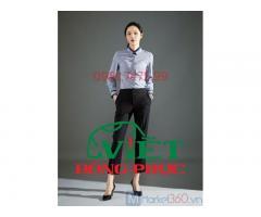 Xưởng nhận may sơ mi nữ đồng phục giá rẻ, nhanh nhất tại Hà Nội