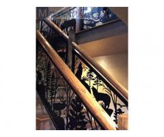 Cầu thang sắt cnc: giải pháp tiết kiệm không gian, tăng giá trị thẩm mỹ cho ngôi nhà