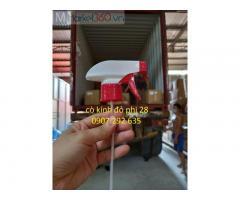 Cò kính đỏ p-phi 28 gia công cao cấp PET