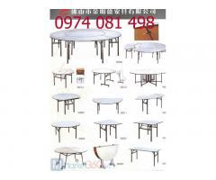 Bàn Oblong, bàn IBM, bàn ghế tiệc cao cấp