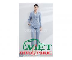 Công ty may áo vest nữ công sở chất lượng, giá rẻ, giao hàng Toàn quốc